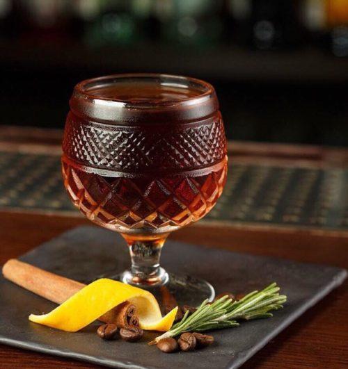 Barbados cocktail by Anton Martoplyas
