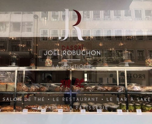 An authentic sake bar in Paris, opened by the multi-starred chef Joël Robuchon