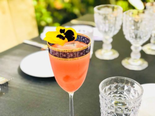Cape Town, a cocktail by bartender Tommaso Scamarcio