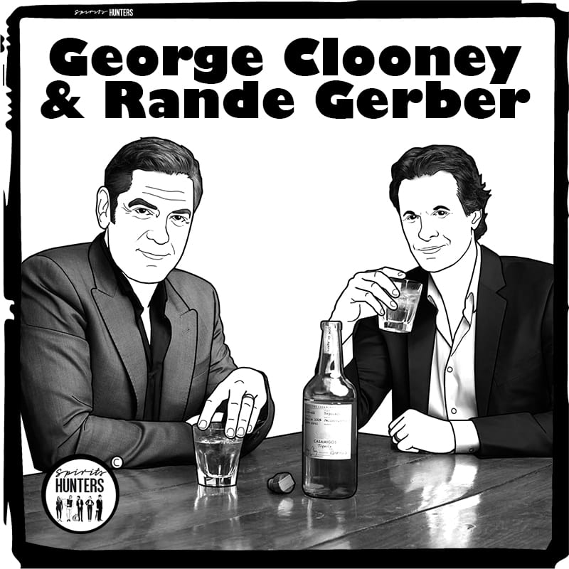 Taste a Margarita cocktail the way George Clooney and Randy Gerber do it