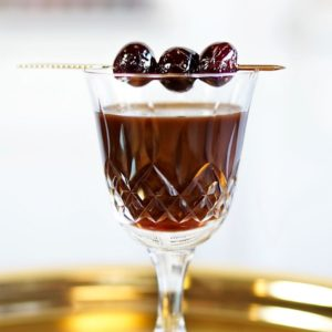 """Whisky-based cocktail recipe """"Ma Cherry d'Amour"""""""