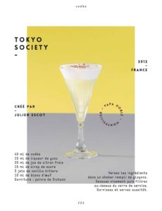 Anecdote Cocktail with Julien Escot: #3 Tokyo Society