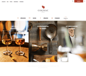 cognac official website