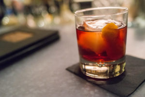 cocktail drink the boulevardier