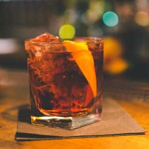 negroni cocktail drink