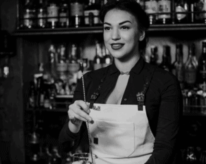 Receta Bad girl - cóctel de la sirena bartender Maria Baranets